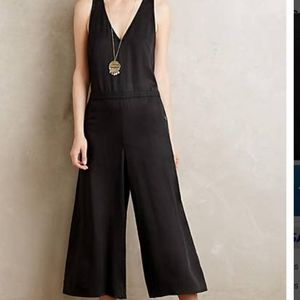 Anthropologie Elevenses Jumpsuit